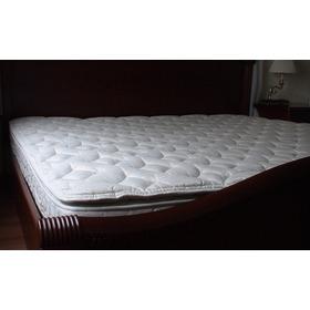 Colchon King Pillow Top Spring Para Cama 2x2 Alcoba Hogar