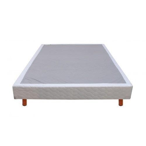 Colchon king size incluye 2 bases box modelo passion serta for Base para colchon king size