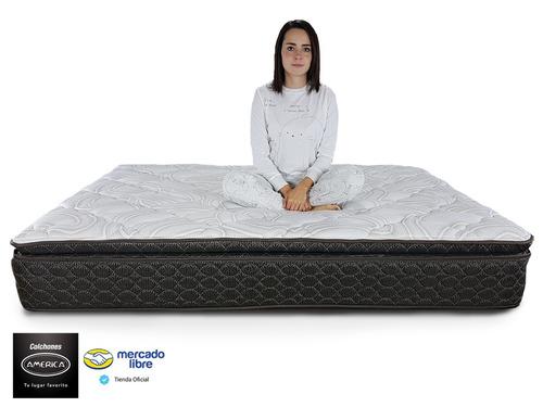 colchón king size américa clio ortopédico envio gratis