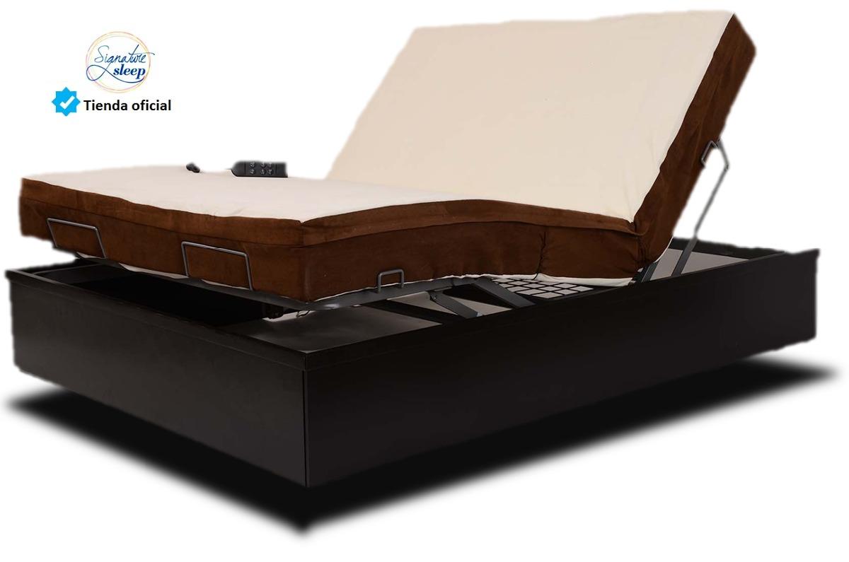 Colchon king size con memory foam y base para cama for Base para colchon king size