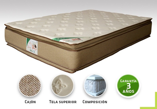 colchon king size ortopedico bio mattress bio 3