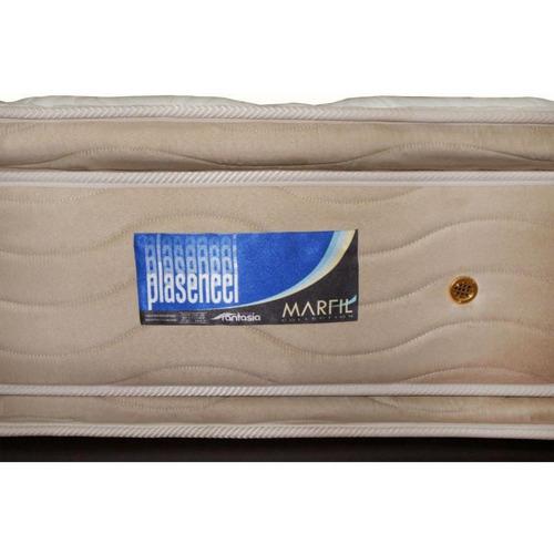 colchón marfil plascencci king 200 x 200 cm