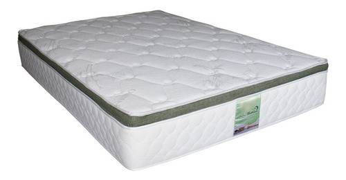 colchon matrimonial memory foam resortes bamboo bio mattress