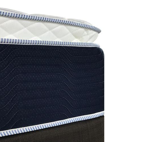 colchón matrimonial spring air comfort flex + 2 almohadas