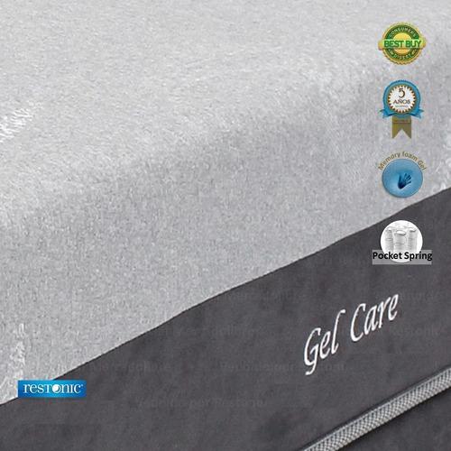 colchon memory foam gel cool individual restonic gel care
