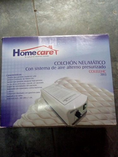 colchón neumático con sistema de aire alterno presurizado