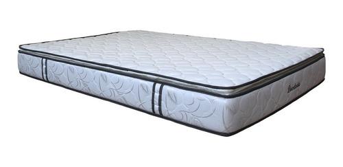colchón niza dormilandia doble+base cama entera+almohada