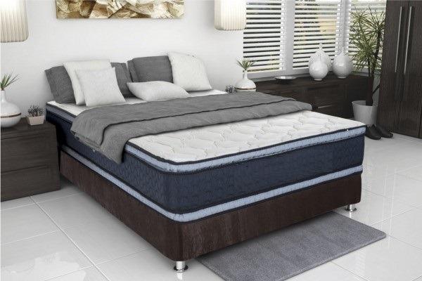 Colch n ortop dico encapsulado base cama doble 1 for Colchon cama doble medidas