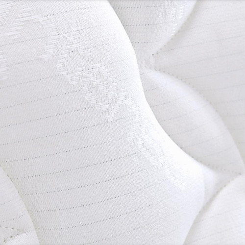 colchón ortopédico pillow top 160 x 190 spring-blanco