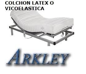 colchon p/ camas articuladas ortopedicas flex.auping. latex