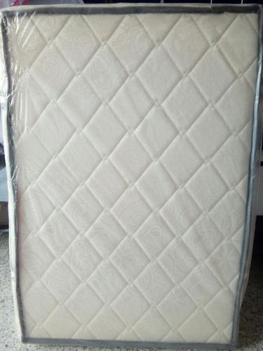 colchon para cama cuna de 70cm a x 1.30cm de l x 9cm de gros
