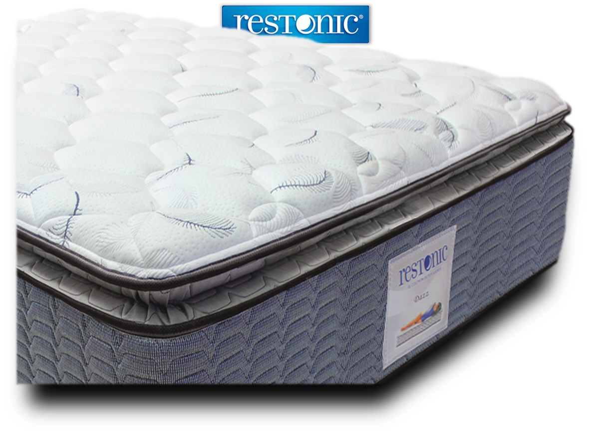 Colch n para cama individual dazz env o gratis restonic for Colchon para cama individual