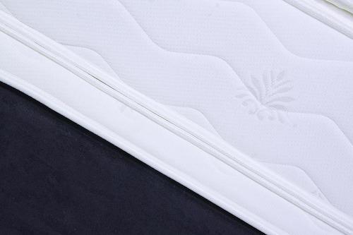 colchón paraíso casablanca gold 90*190 doble cara + basecama