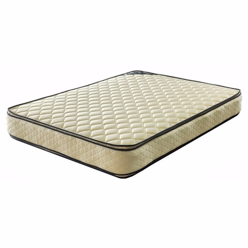 colchón piero bahía doble pillow top - resortes - 140 x 190