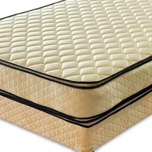 colchón piero bahia pillow 190 x 160 queen resortes