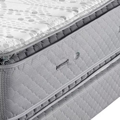 colchón piero montreaux pillow 190 x 140  resortes pocket