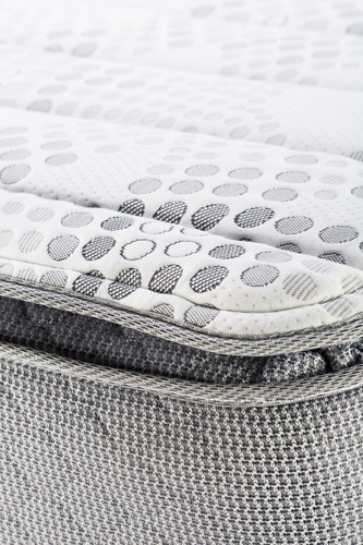 colchón piero montreaux pillow 190x150 resortes pocket