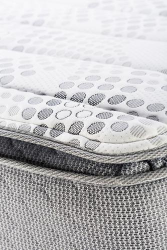 colchón piero montreaux pillow queen size 200x160 resortes