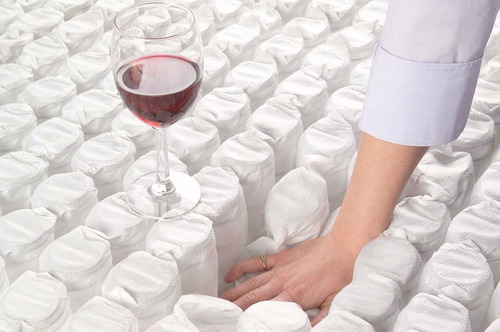 colchon piero montreaux pillow top 190 x 140 resortes pocket