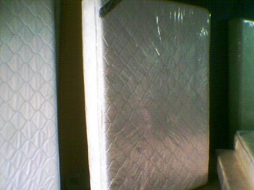colchón pillow-top ortopédico remate promoción latex espuma