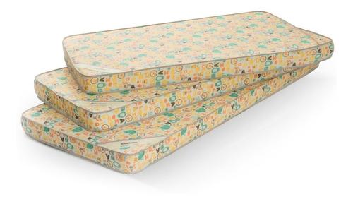 colchón practicuna baby belmo 97x65x10 - 23 kg/m3