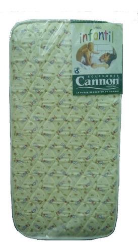colchon practicuna cannon 70x100 bebe