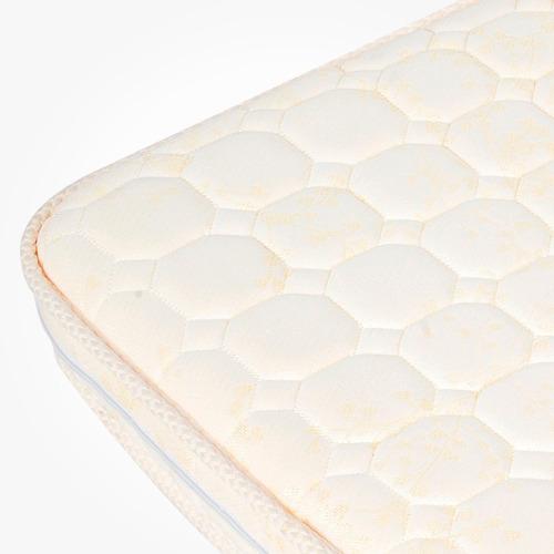 colchón practicuna carestino 25kg de densidad 100x70cm