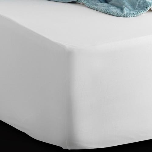 colchón pullman ortopédico doble + base cama + lencería