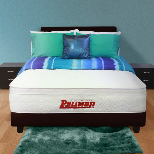 colchón pullman pullpack supermemory u semidoble 120x190