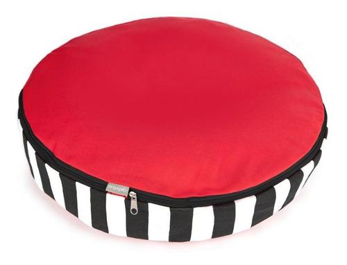 colchón redondo antiolor  grande (105cm)