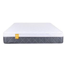 Colchón Resortado Con Pillow Top Doble Delta Sem