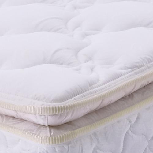 colchón resortado osiris 120 x 190 + base cama negra