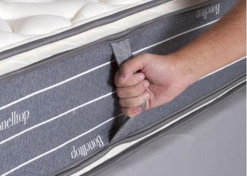 colchón resortes la cardeuse bonelltop 160x190