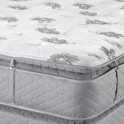 colchón resortes piero ambar 200x160 queen pillow desmontabl