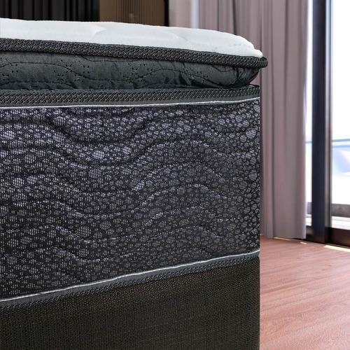 colchón restonic apollo pillow top queen size envío gratis