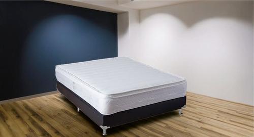 colchón salvación doble pillow doble 140x190 (semi firme)
