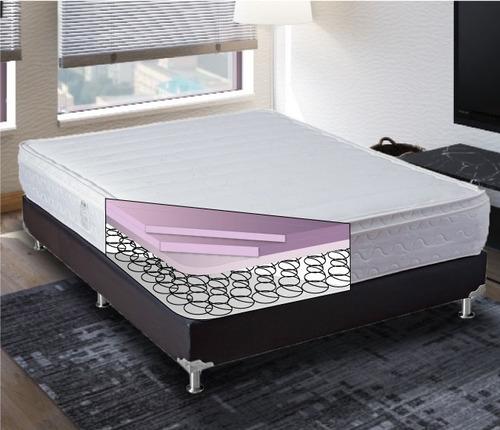 colchón salvación eurotop doble 140x190 (semi firme)