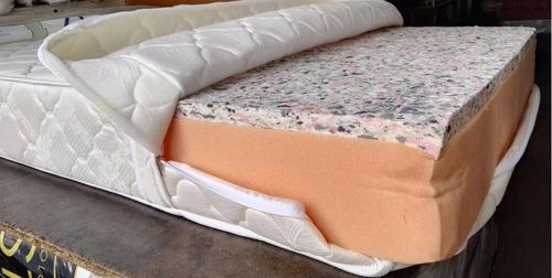 colchon semi ortopedico en espuma alta densidad sencillo