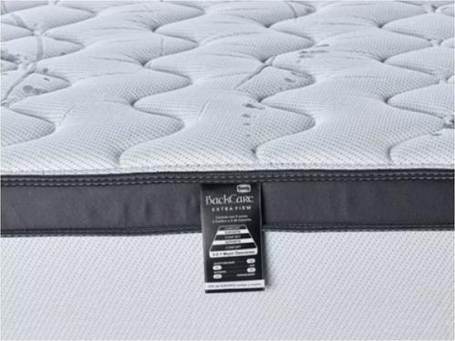 colchón simmons backcare siesta - 2 plazas - 140x190