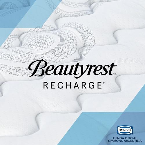 colchón simmons beautyrest recharge supreme 1 plaza 190x80