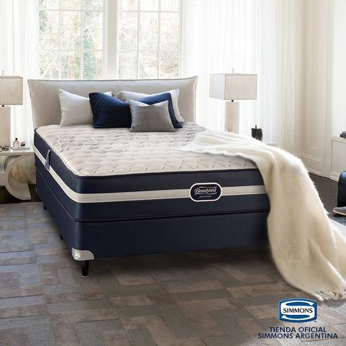 colchón simmons beautyrest recharge supreme 2 plazas 190x140