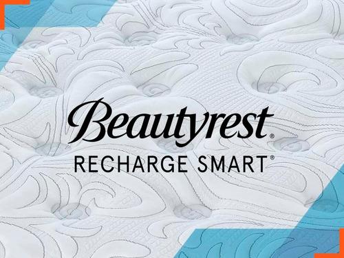 colchon simmons beautyrest smart 1 1/2 plaza 190 100 resorte