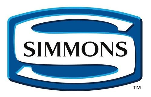 colchón simmons beautyrest smart elegance - 140x190