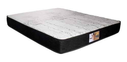 colchon + somier 2p king koil devon 140 x 190 + almohadas