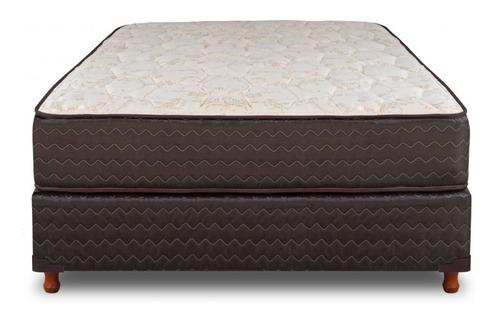 colchón & sommier arcoiris modern reforzado 190x150 dct