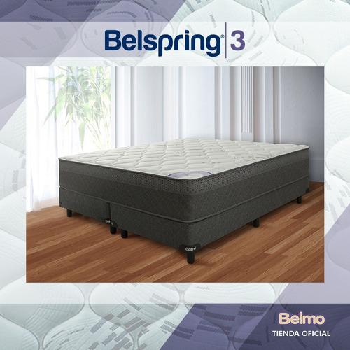 colchón sommier belmo belspring 3 2 plazas 190x140