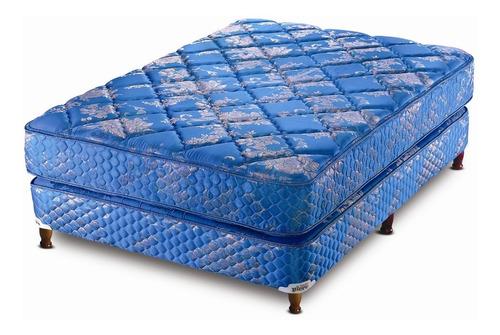 colchón + sommier continental 90 cm zonasc/entrega gratis