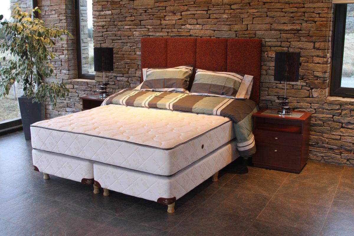 Colchón + Sommier Lenga Suite 1.50 X 1.90 Línea Hotelera