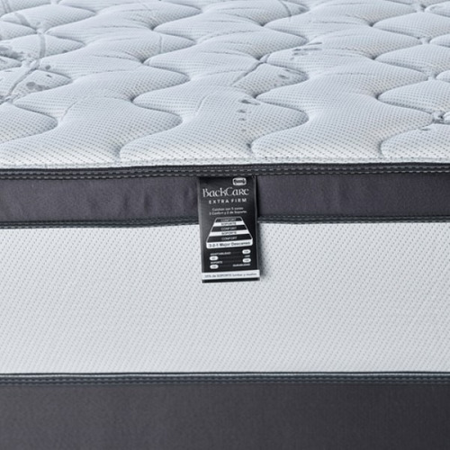 colchon sommier simmons backcare 2 plazas 190 x 140