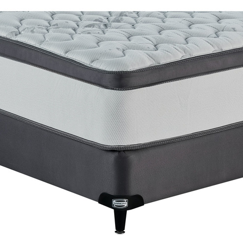 colchón sommier simmons backcare extra firm 2 plazas 190x140